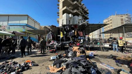 President Abbas condemns twin deadly attack in central Baghdad market