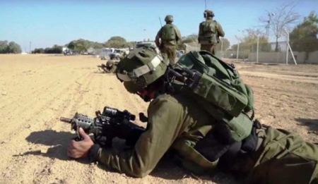 Israeli forces conduct military drills in northern Jordan Valley, destroy crops