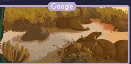 Google Doodle slideshow observes Galápagos Islands