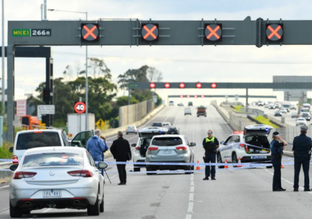 Man shot dead in Monash Freeway deadlock had emotional well-being issues, police say