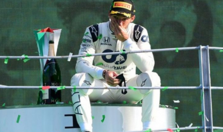 Pierre Gasly wins exciting Italian Grand Prix after Lewis Hamilton punishment