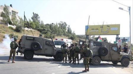 Israeli forces close off northern entrance to Salfit following alleged attack