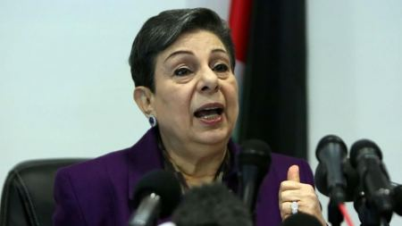 Ashrawi: US decision to label Jerusalem as Israel is attempt to erase Palestinians